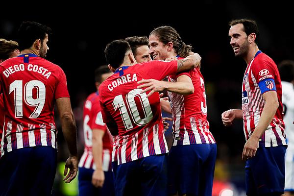 Atletico Madrid chưa có được sự ổn định ở mùa này