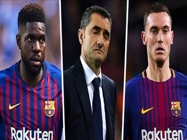 Barca mua sắm thêm trung vệ vì khủng hoảng