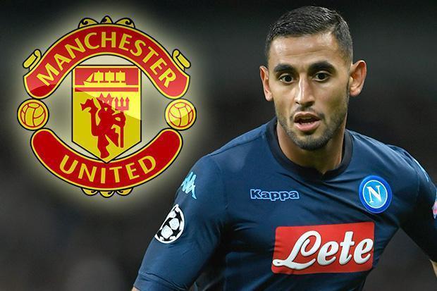 Faouzi Ghoulam đang trong tầm ngắm của Man Utd