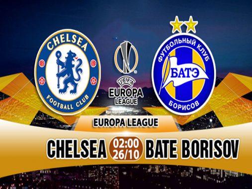 Dự đoán bóng đá Chelsea vs BATE Borisov, 02h00 ngày 26/10: Chelsea cửa trên