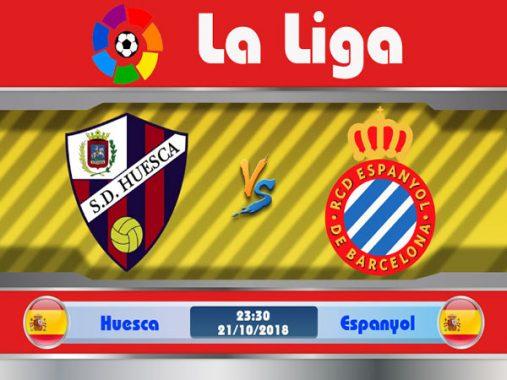 Dự đoán bóng đá Huesca vs Espanyol 23h30, ngày 21/10