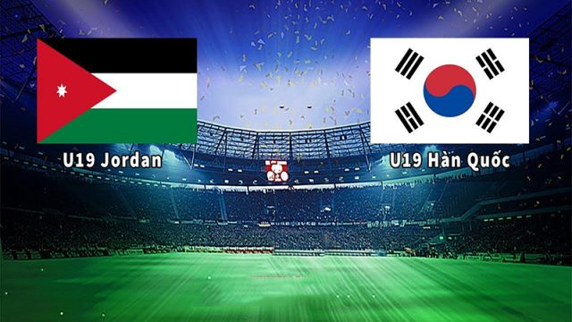Dự đoán bóng đá U19 Jordan vs U19 Hàn Quốc, 19h00 ngày 22/10