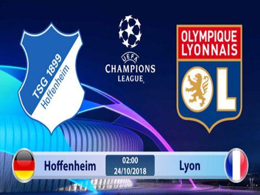 Dự đoán bóng đá Hoffenheim vs Lyon 02h00, ngày 24/10