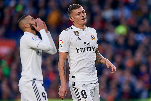 Real Madrid cần vực dậy sau thất bại thảm hại trước Barca