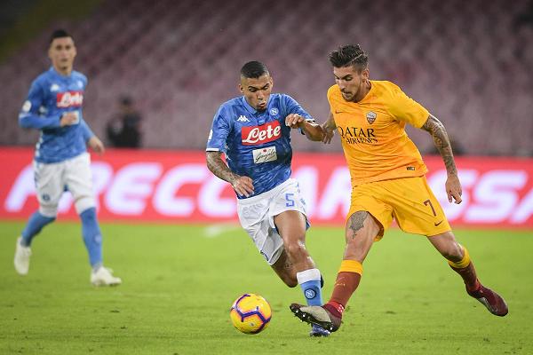 Napoli đã để Inter Milan vượt qua trên BXH