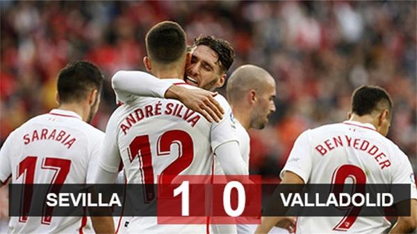 Sevilla thắng nhẹ, cướp ngôi đầu của Barca