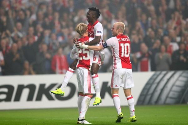 Ajax đang thể hiên phong độ tốt