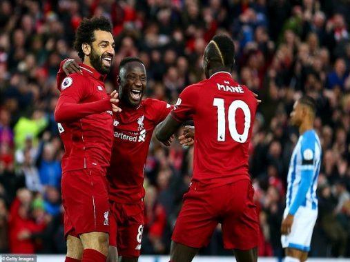 Liverpool được thiết lập những kỷ lục khủng