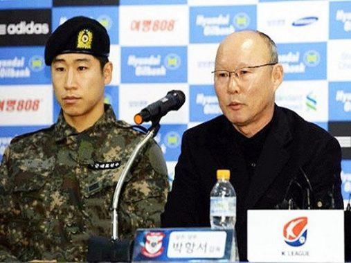 Sự kinh ngạc của tuyển thủ Hàn Quốc với Park Hang Seo