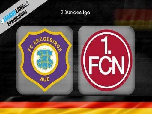Dự đoán Erzgebirge Aue vs Nurnberg 23h30, 18/10 (Hạng 2 Đức)