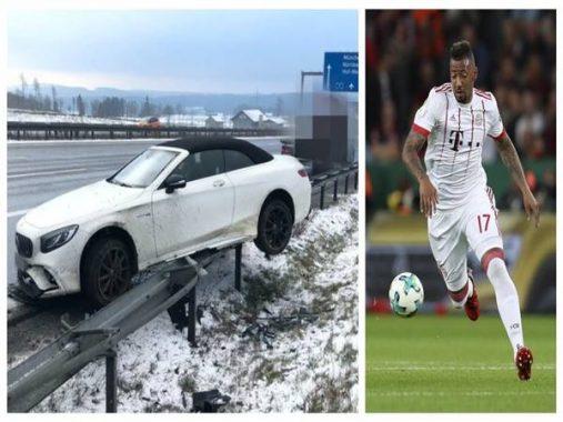 Sao Bayern Munich bị tai nạn bất ngờ trong lúc dịch bệnh