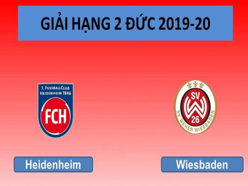 Dự đoán Heidenheim vs Wehen Wiesbaden, 23h30 ngày 22/5