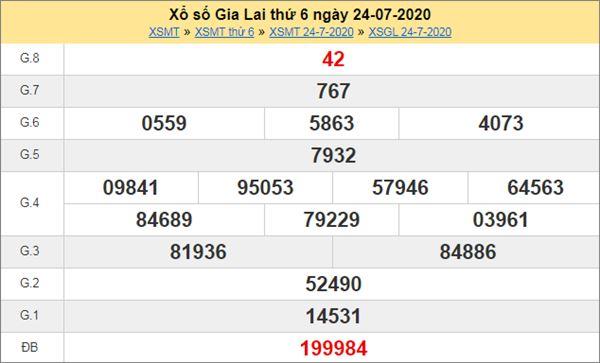 Dự đoán XSGL 31/7/2020 chốt KQXS Gia Lai cực chuẩn