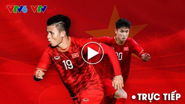 Xem tường thuật trực tiếp bóng đá hôm nay VTV6 cùng Bongda247.vn